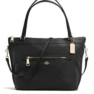 Coach Leather Tyler Tote